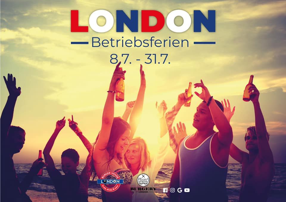 London Betribsferien